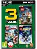 Lego Triple Pack: Jurassic, Avengers, Batman 3 PC