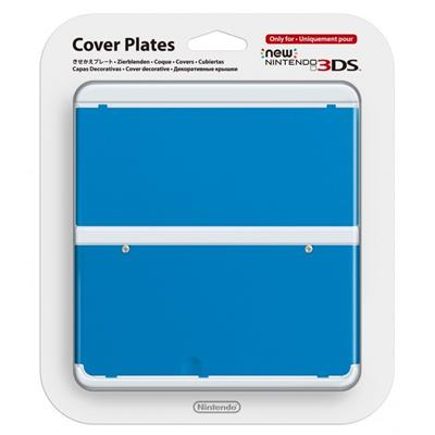 Blue Cover Plate For New 3DS -37078