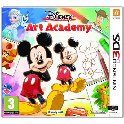 Disney Art Academy 3DS-37097