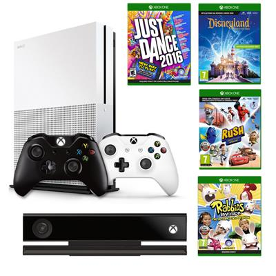 Xbox One S 1TB Kinect jd16 disney rush rabbid Pad-36210