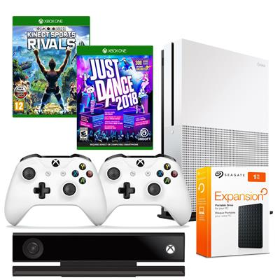 Xbox One S 1TB Kinect 2 Pady RIVALS JD18 DYSK1TB-36797