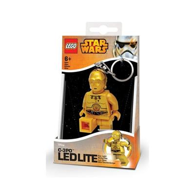 Brelok C-3PO Lego Star Wars Mini Led Torch 7.6cm-37631