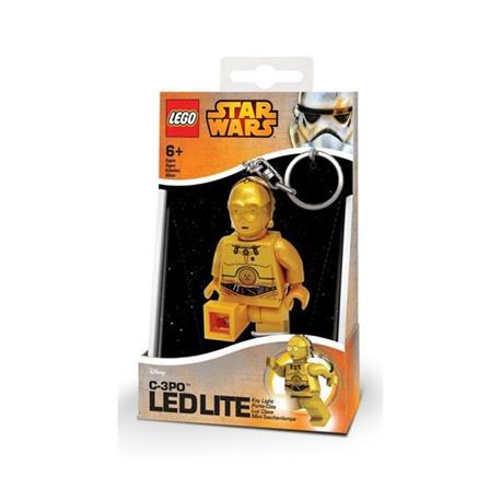 Brelok C-3PO Lego Star Wars Mini Led Torch 7.6cm-37631
