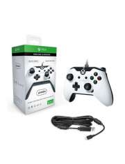 PDP Controller Stealth Series White Wired Xone-38260
