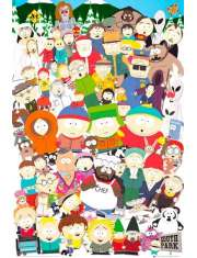 South Park Bohaterowie - plakat