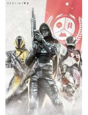 Destiny 2 Bohaterowie - plakat