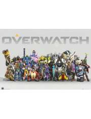 Overwatch Anniversary Line Up - plakat