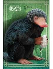 Fantastyczne zwierzęta i jak je znaleźć Niffler - plakat