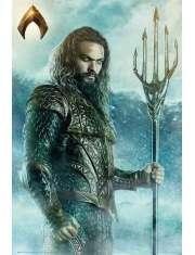 Aquaman Trójząb - plakat