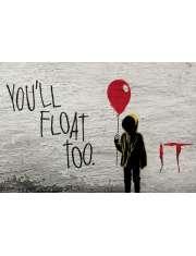 To - IT Czerwony Balonik - plakat