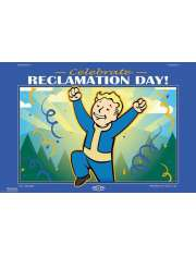 Fallout 76 Reclamation Day - plakat