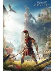 Assassins Creed Odyssey Keyart - plakat