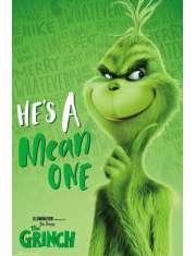 Złośliwy Grinch - plakat