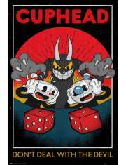 Cuphead Dont Deal with The Devil - plakat