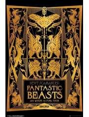 Fantastyczne zwierzęta i jak je znaleźć Okładka Książki - plakat