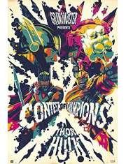 Thor Ragnarok Psychedelic - plakat