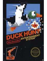 Duck Hunt Retro - plakat