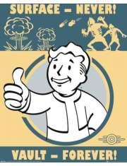 Fallout Vault Forever - plakat