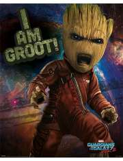 Strażnicy Galaktyki Vol 2 Groot - plakat
