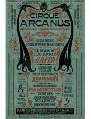 Fantastyczne Zwierzęta Zbrodnie Grindelwalda Le Cirque Arcanus - plakat