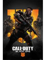 Call of Duty Black Ops 4 Okładka - plakat
