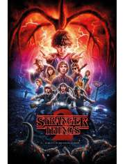 Stranger Things Sezon 2 - plakat
