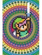 The Legend Of Zelda Retro - plakat