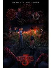 Stranger Things One Summer Can Change Everything - plakat
