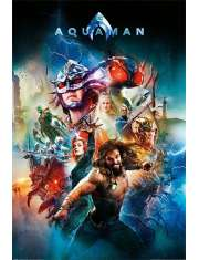 Aquaman Battle For Atlantis - plakat