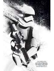Star Wars Gwiezdne Wojny Przebudzenie Mocy Szturmowiec - plakat