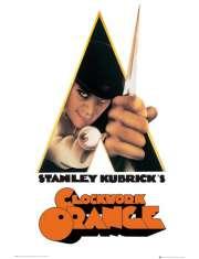 Mechaniczna Pomarańcza Stanley Kubrick - plakat