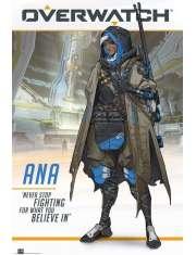 Overwatch Ana - plakat
