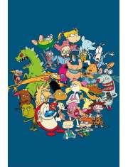 Nickelodeon Bohaterowie - plakat