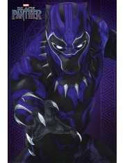 Czarna Pantera Black Panther - plakat