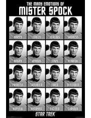 Star Trek Spock i jego emocje - plakat