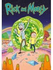 Rick and Morty Portal - plakat