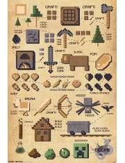 Minecraft - plakat