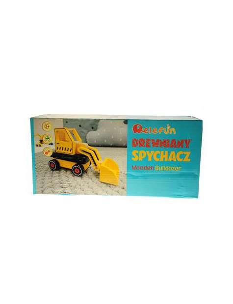 Elefun Drewniany Spychacz-39750