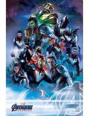 Avengers Endgame Quantum Realm Suits - plakat