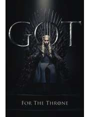 Gra o Tron Daenerys For The Throne - plakat