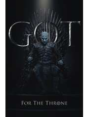 Gra o Tron The Night King For The Throne - plakat