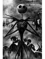 Miasteczko Halloween Tim Burton - plakat