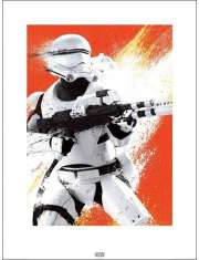 Gwiezdne Wojny Star Wars The Force Awakens Flametrooper - plakat premium