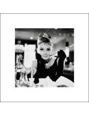 Audrey Hepburn B&W - reprodukcja