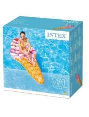 Intex Dmuchany Materac Plażowy Lód Rożek 58762-40506