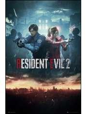 Resident Evil 2 City - plakat