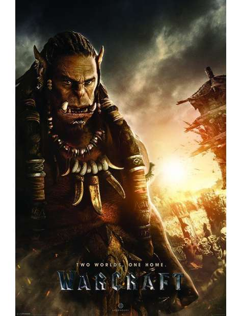 Warcraft Two Worlds, One Home - Durotan - plakat