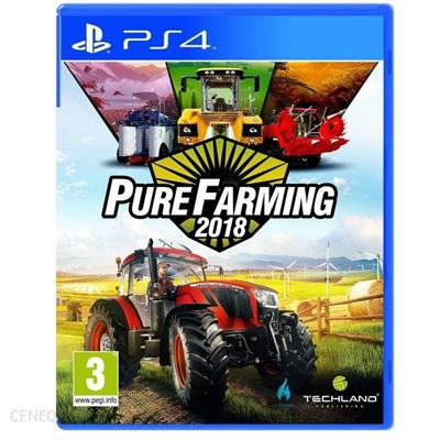 Pure Farming 2018 PS4 Używana-34527