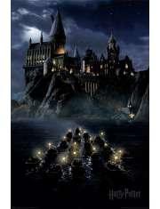 Harry Potter Łodzie Hogwart - plakat