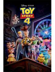 Toy Story 4 Antique Shop Anarchy - plakat